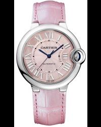 Cartier Ballon Bleu  Automatic Women's Watch, Stainless Steel, Silver Dial, WSBB0007