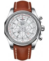 Breitling Bentley B05 Unitime  Chronograph Automatic Men's Watch, Stainless Steel, White Dial, AB0521U0.A755.440X