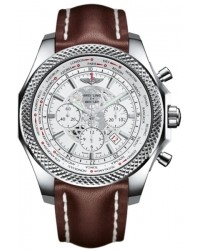 Breitling Bentley B05 Unitime  Chronograph Automatic Men's Watch, Stainless Steel, White Dial, AB0521U0.A755.444X