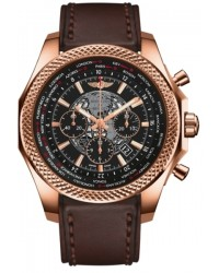 Breitling Bentley B05 Unitime  Chronograph Automatic Men's Watch, 18K Rose Gold, Black Dial, RB0521U4.BC66.479X