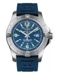 Breitling Colt  Super-Quartz Men's Watch, Stainless Steel, Blue Dial, A7438811.C907.158S