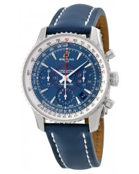 Breitling Montbrillant 01 Limited Edition  Chronograph Automatic Men's Watch, Stainless Steel, Silver Dial, AB0130C5.C894.113X