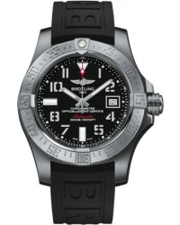 Breitling Avenger II Seawolf  Automatic Men's Watch, Stainless Steel, Black Dial, A1733110.BC31.152S