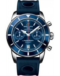 Breitling Superocean Heritage Chronographe 44  Chronograph Automatic Men's Watch, Stainless Steel, Blue Dial, A2337016.C856.211S