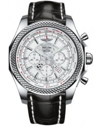 Breitling Bentley B05 Unitime  Chronograph Automatic Men's Watch, Stainless Steel, White Dial, AB0521U0.A755.761P