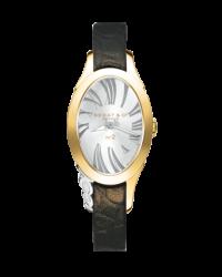 Bedat No 2  Quartz Women's Watch, 18K Yellow Gold, Silver Dial, 207.300.602