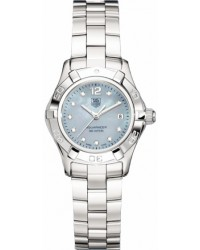 Tag Heuer Aquaracer  Quartz Women's Watch, Stainless Steel, Blue Mother Of Pearl Dial, WAF1419.BA0824