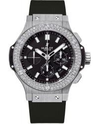 Hublot Big Bang 44mm  Chronograph Automatic Men's Watch, Stainless Steel, Black Dial, 301.SX.1170.RX.1104