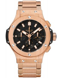 Hublot Big Bang 44mm  Chronograph Automatic Men's Watch, 18K Rose Gold, Black Dial, 301.PX.1180.PX