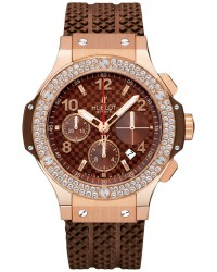 Hublot Big Bang 41mm  Chronograph Automatic Men's Watch, 18K Rose Gold, Brown Dial, 341.PC.3380.RC.1104