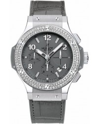 Hublot Big Bang 41mm  Chronograph Automatic Men's Watch, Stainless Steel, Grey Dial, 342.ST.5010.LR.1104