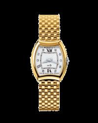 Bedat No 3  Quartz Women's Watch, 18K Yellow Gold, Silver Dial, 304.303.109