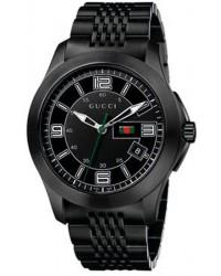 Gucci G-Timeless  Quartz Men's Watch, PVD, Black Dial, YA126202