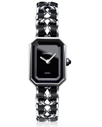 Chanel Premier  Quartz Women's Watch, Stainless Steel, Black Dial, H0451