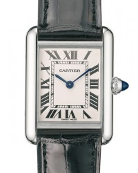 Cartier Tank Louis  Quartz Women's Watch, Stainless Steel, Silver Dial, W1541056