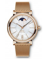 IWC Portofino  Automatic Unisex Watch, 18K Rose Gold, Mother Of Pearl Dial, IW459005