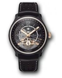 Jaeger Lecoultre Amvox  Automatic Men's Watch, Ceramic & Gold, Black Dial, 193C450