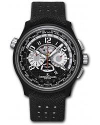 Jaeger Lecoultre Amvox  Chronograph Automatic Men's Watch, Titanium Ceramic, Black Dial, 193J471