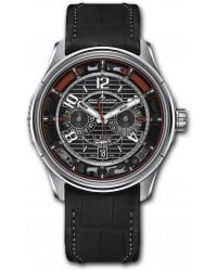 Jaeger Lecoultre Amvox  Chronograph Automatic Men's Watch, Titanium, Black Dial, 194T470