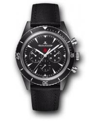 Jaeger Lecoultre   Automatic Men's Watch, Ceramic, Black Dial, 208A570