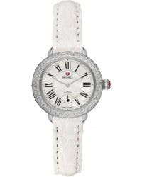 Michele Butterfly  Quartz Women's Watch, Stainless Steel, Mother Of Pearl Dial, MWW21E000004