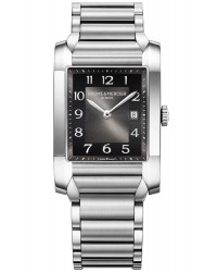 Baume & Mercier Hampton Classic  Automatic Men's Watch, Stainless Steel, Black Dial, MOA10021