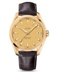 Omega Aqua Terra  Automatic Men's Watch, 18K Rose Gold, Champagne Dial, 231.53.42.21.08.001