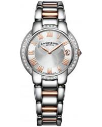 Raymond Weil Jasmine  Quartz Women's Watch, Stainless Steel, Grey Dial, 5235-S5S-01658