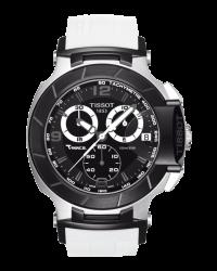 Tissot T Race  Chronograph Quartz Men's Watch, Stainless Steel, Black Dial, T048.417.27.057.05