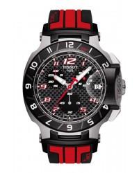 Tissot T Race  Chronograph Quartz Men's Watch, Stainless Steel, Black Dial, T048.417.27.207.01