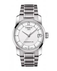 Tissot Titanium Lady  Automatic Women's Watch, Titanium, Silver Dial, T087.207.44.037.00