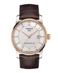 Tissot Titanium  Automatic Men's Watch, Titanium, Silver Dial, T087.407.56.037.00
