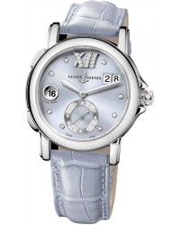 Ulysse Nardin Nifty / Functional  Automatic Women's Watch, Stainless Steel, Silver & Diamonds Dial, 243-22/30-07
