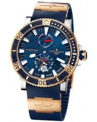 Ulysse Nardin Maxi Marine Diver  Automatic Men's Watch, Titanium, Blue Dial, 265-91LE-3