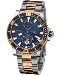Ulysse Nardin Maxi Marine Diver  Automatic Men's Watch, Titanium, Blue Dial, 265-91LE-8M