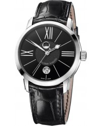 Ulysse Nardin Classical  Automatic Men's Watch, Stainless Steel, Black Dial, 8293-122-2/42