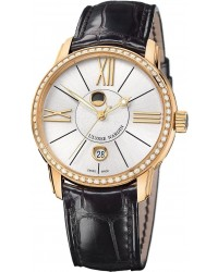 Ulysse Nardin Classical  Automatic Men's Watch, 18K Rose Gold, Silver Dial, 8296-122B-2/41
