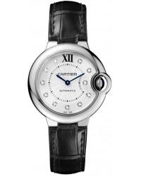 Cartier Ballon Bleu  Automatic Women's Watch, Stainless Steel, Silver Dial, W4BB0009