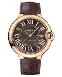 Cartier Ballon Bleu  Automatic Men's Watch, 18K Rose Gold, Brown Dial, W6920037