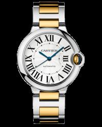 Cartier Ballon Bleu  Automatic Women's Watch, Stainless Steel, Silver Dial, W6920047