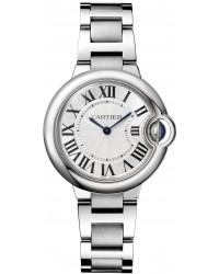 Cartier Ballon Bleu  Automatic Women's Watch, Stainless Steel, Silver Dial, W6920084