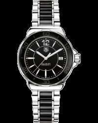 Tag Heuer Formula 1  Quartz Women's Watch, Stainless Steel, Black Dial, WAH1210.BA0859