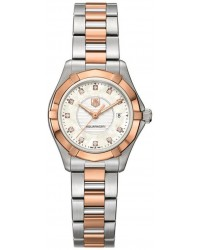 Tag Heuer Aquaracer  Quartz Women's Watch, Stainless Steel, White Dial, WAP1451.BD0837