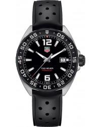 Tag Heuer Formula 1  Quartz Men's Watch, Stainless Steel, Black Dial, WAZ1110.FT8023